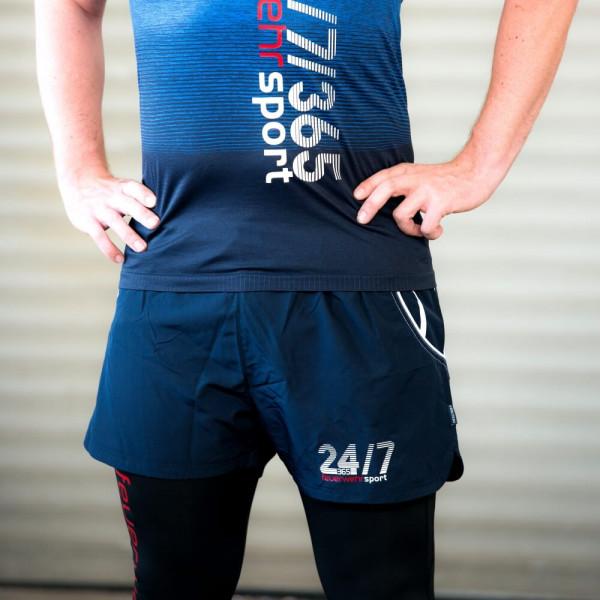 Feuerwehr I Sport-Short Männer Blau