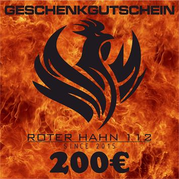 Geschenkgutschein 12 I 200€