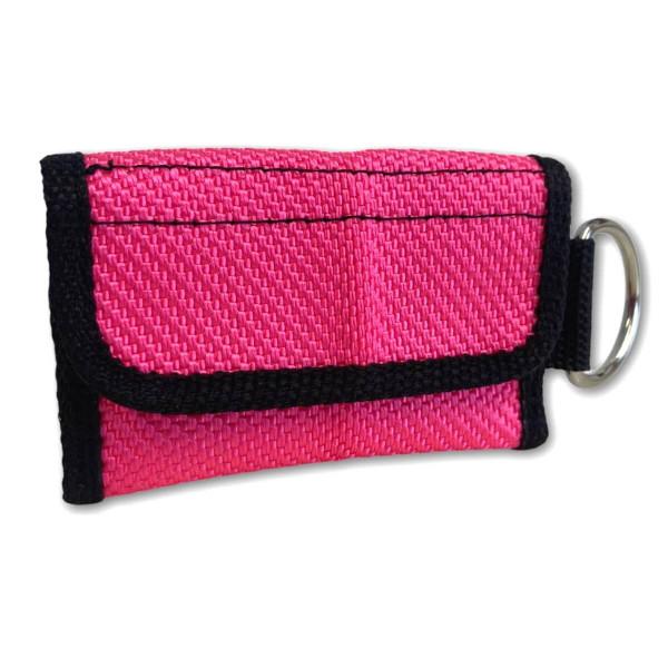 Schlüsseltasche I Schlauch Pink