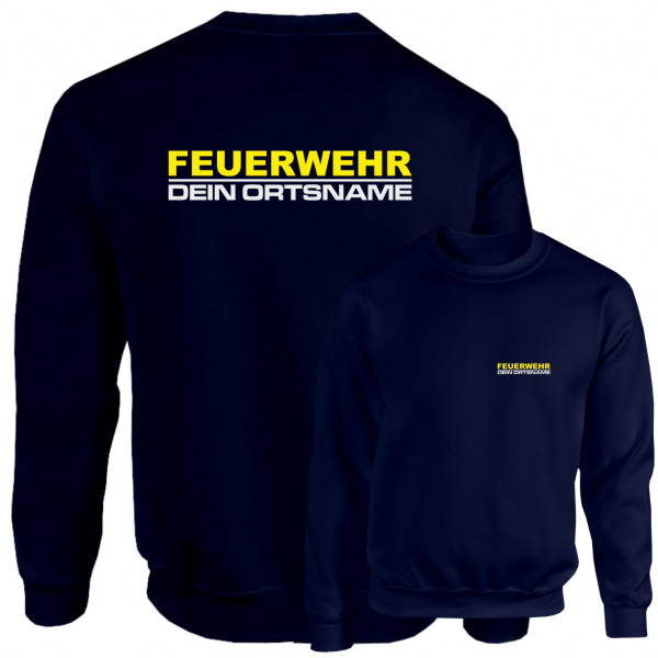 Pullover I Feuerwehr +Ortsname
