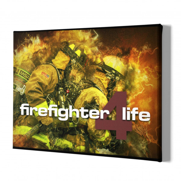 Leinwand I Firefighter