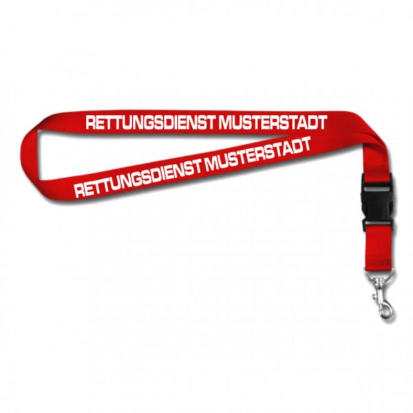 Schlüsselband I RD +Ortsname