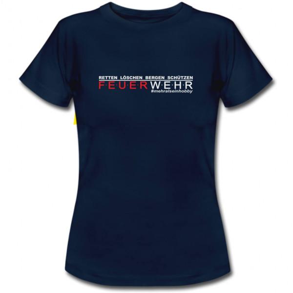 Tshirt Frauen I Mehr als ein Hobby