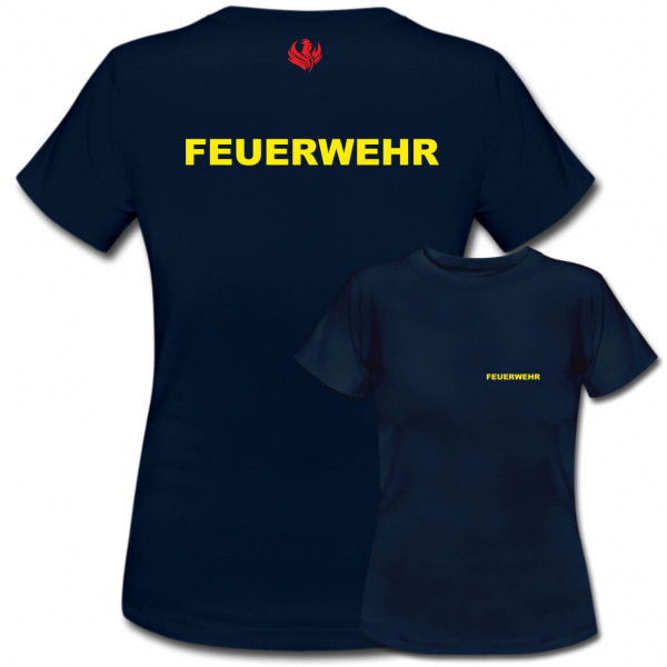 Tshirt Frauen I Feuerwehr