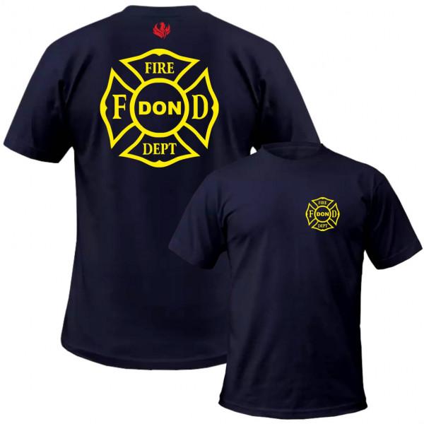 Tshirt Männer I Fire Dept. Cross