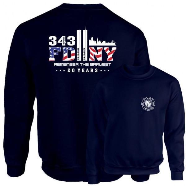 Pullover I 9/11 20 Years Anniversary