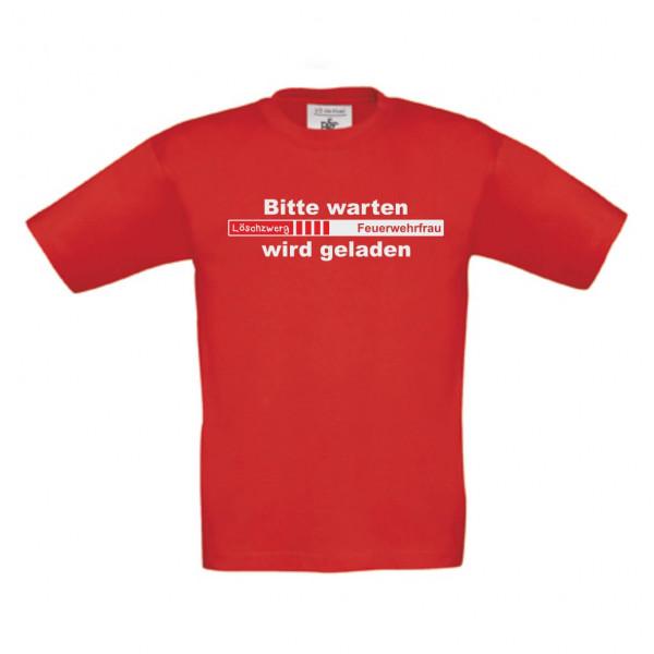Baby Shirt kurz I Feuerwehrfrau wird geladen