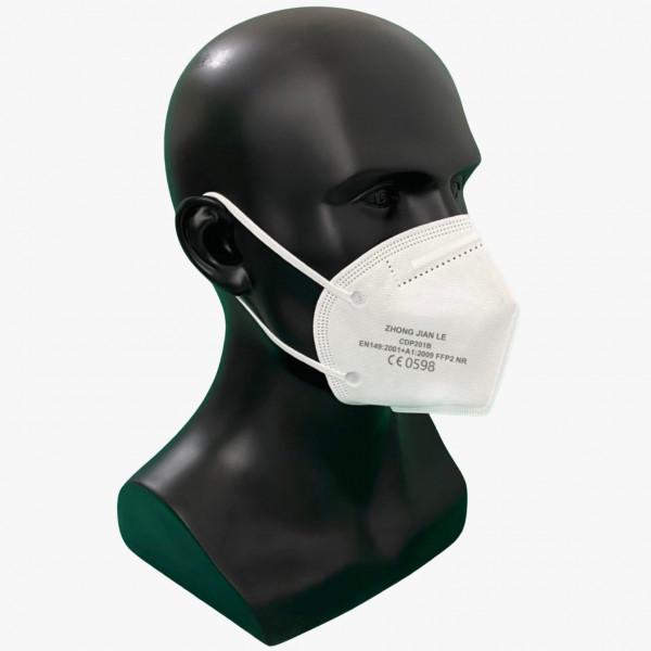 FFP2 Mund- Nasenschutz CE0598 einzel