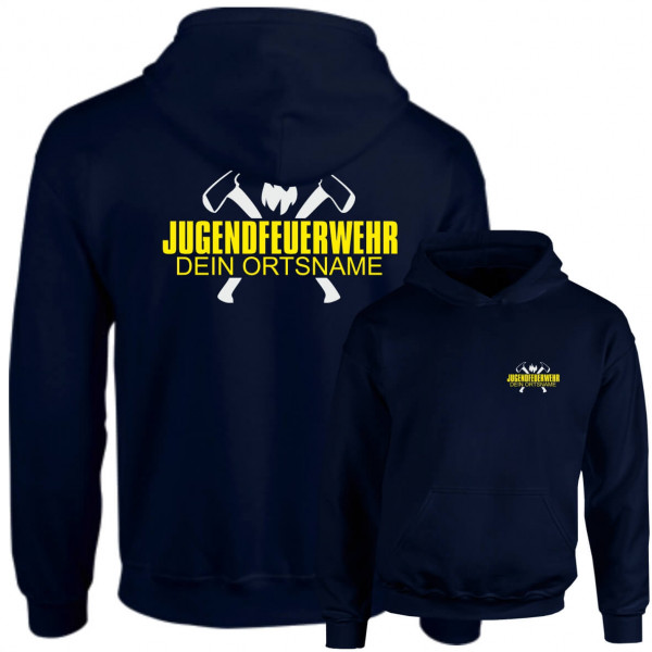Hoodie JFW I JFW Axt +Ortsname