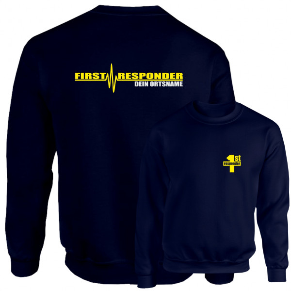 Pullover I First Responder +Ortsname