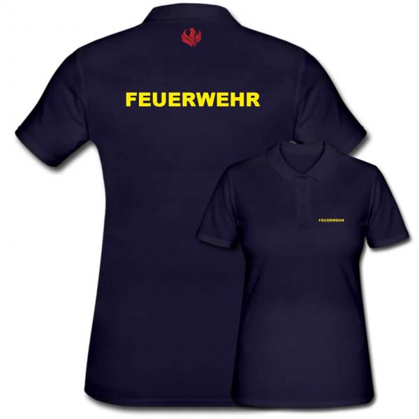 Poloshirt Frauen I Feuerwehr